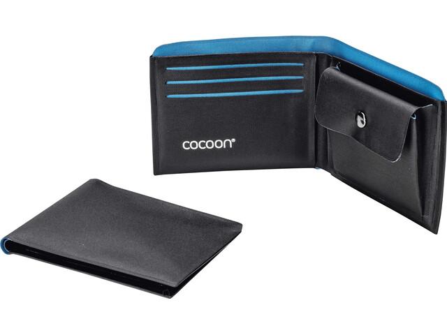 Cocoon Wallet met Munt Pocket, blauw/zwart